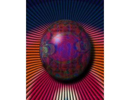 Fractal Button - 1995