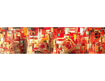 1234 Images rocket science 1,2,3,4 as a combination - abstract fine art