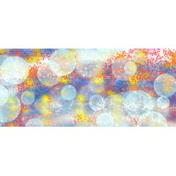 Bubbly Fireworks Landscape